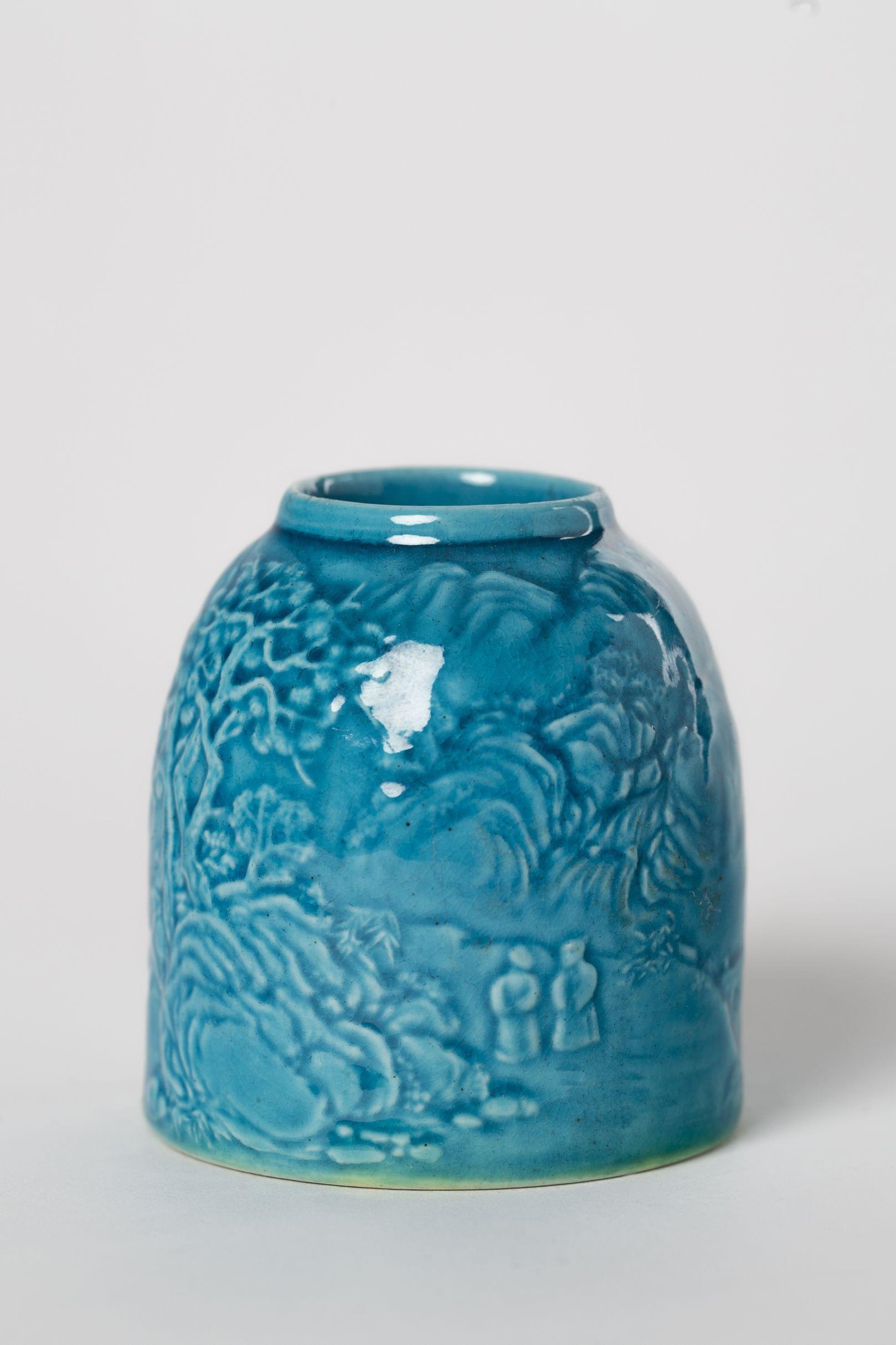 Rince-pinceaux, Chine, fin XIXe-début XXe s